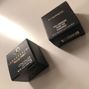 Mac cosmetics & Anastasia Beverly Hills Concealer